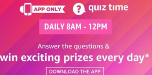 Amazon Quiz Answers Today Great Indian Festival Quiz 10oct Win 50000 Itatube Net